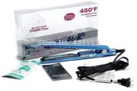 3 PCS/LOT Chapinha Nano Titanium Professional Ceramic Hair Straightening Iron 1 1/4 &1 3/4 Plate Digital Flat Iron