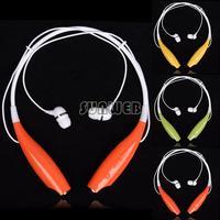 2014 New On Sale HV/HB-800 Bluetooth Wireless Heandphone Stereo Music earphone Universal Neckband for cellphones b4 CB023617