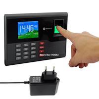 BrandNew Biometric Fingerprint Time Clock Recorder Attendance Employee Digital Machine Electronic sensor Reader EU Plug b6 15202