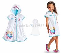 New 2014 frozen children's bathrobe, bathrobe for kids  Wu Children Clothing Free Shipping