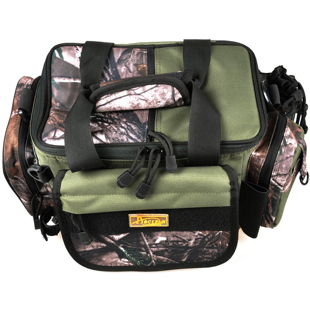 Nuovo 2014 sacchetto di pesca 39*20*25cm 1 pz di alta qualità multifunzionale attrezzatura da pesca tela impermeabile sacchetti di grande capacità bg005