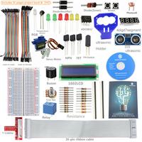 New SunFounder Ultrasonic Relay LCD Electronic Kit For Raspberry Pi , T-Cobbler