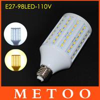 30W NO abajur LED lamps E27 5630 5730 SMD 98 leds 110V 127V 130V LED spotlight light,Super Bright led lanterna Dropshipping