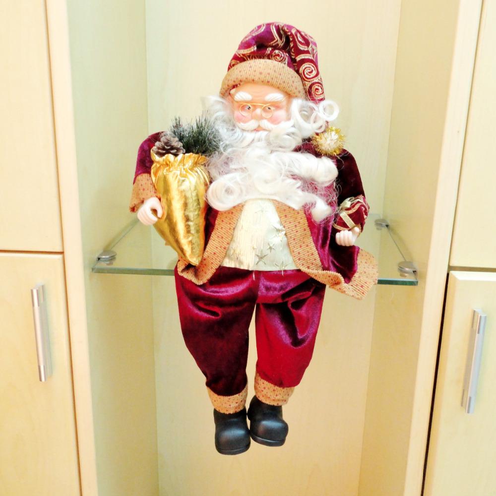Free Shipping christmas 2014 christmas decoration supplies santa claus,christmas supplies trumpet,MC-02 christmas ornament,natal(China (Mainland))