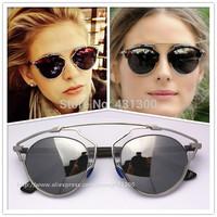 SO REAL  2014 Sunglasses Women Brand Designer Christian Fashion Brand Sunglasses Men Retro Coating Sunglasses oculos polarizado