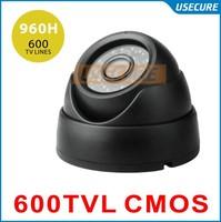 CCTV video Surveillance security Cameras CMOS 600tvl 24pcs IR waterproof indoor dome camera