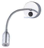 S028B SWITCH 3W Flexible arm light LED wall light LED reading lamp LED gooseneck arm light Hotel lamp Project lighting