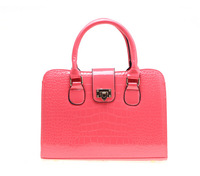 2014 Fashion Desigual pu Leather Women Handbag shoulder bag Peach Heart Shoulder Bags Crocodile Messenger Bags Totes Bolsas