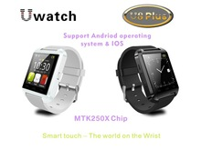 2014 New Bluetooth SmartWatch U8 WristWatch  for iPhone 5/5S Smartphone for Samsung S4/Note 2/Note 3  Fashion Watch Anti-lost