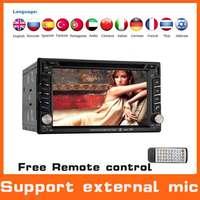 Universal Headrest Autoradio 2din Car dvd mp3 player W/GPS NVI+800Mhz CPU +AM FM Radio+Bluetooth+Audio+Car Pc+Stereo,Support DVR