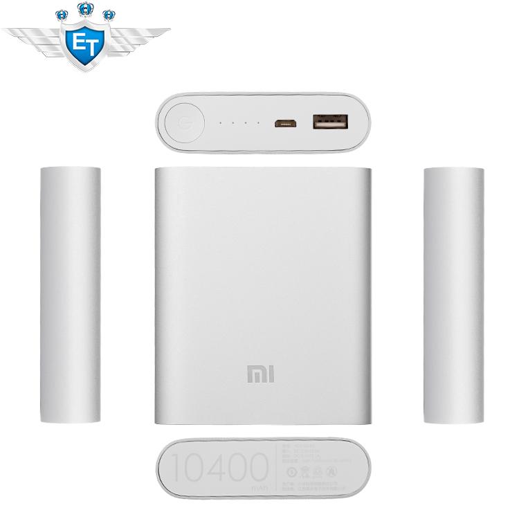 Original Xiaomi Power Bank 10400mAh Portable practical Xiaomi M3 M2S M2A Red Rice Hongmi Battery 5.1V-2.1A Output(China (Mainland))