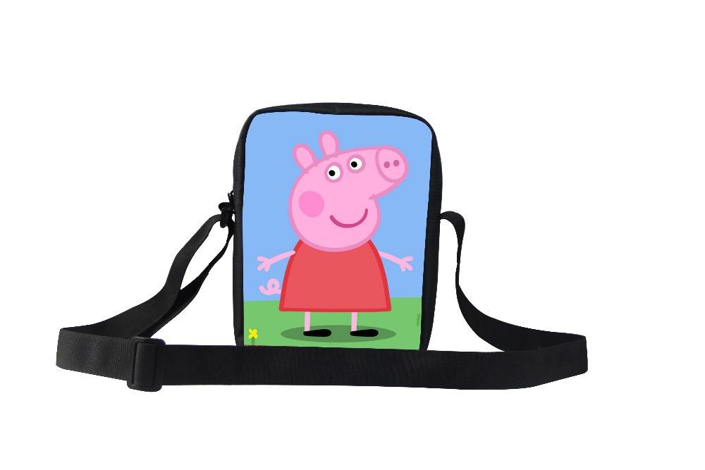 whosepet- peppa pig women messenger bags,cute cartoon shoulder bags,my little pony bags handbags women famous brands free ship(China (Mainland))