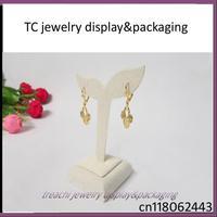 Jewelry Display Beige Lannelette Earrings Holder Earrings Display Stand for Earrings Jewelry Props Earrings Exhibitor