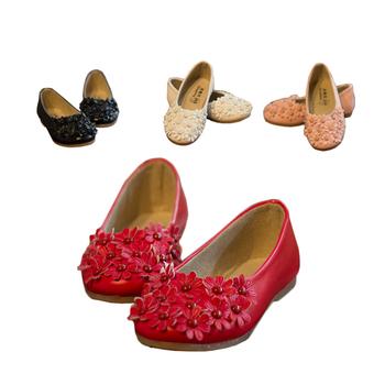 Горячий! Детская девичья обувь, девичья кожаная обувь, детская обувь с цветочками, девичья обувь для принцесс