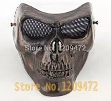 M02 crâne masque cs protection Paintball Airsoft Gun masques Halloween masques d'horreur A94 full face livraison gratuite(China (Mainland))
