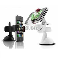 Mobile Phone Holder Car Windshield Sucker Mount Bracket Stand 360 Degree Rotating for GPS Tablet PC #005 SV003447