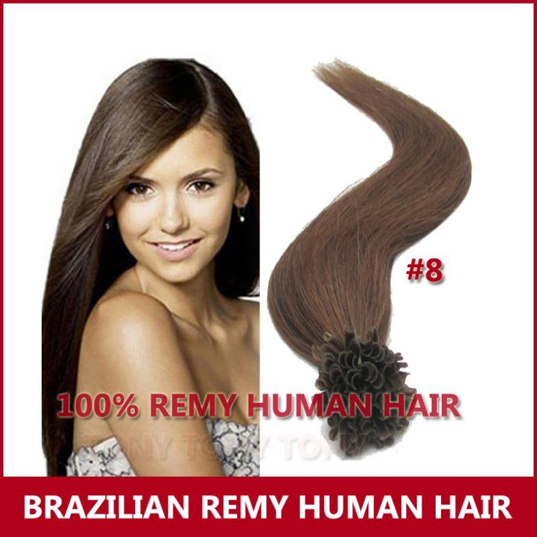 Other 100 Pre u 18 20 22 #8 Nail Hair fashion hair queen 100 u 0 5 g 18 20 22 1 nail hair