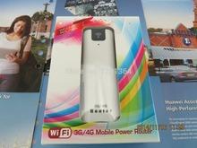 Inteligente Moblie WIFI 3 G Router wi fi com slot para cartão sim com power bank 2200 Mah 3 G MIFI WCDMA Router Wirless / HSUPA / HSDPA / UMTS