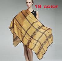 NEW DESIGN women's printe lace 100% silk stain popular polyester shawls long hijab head muslim scarves/scarf 10pcs/lot