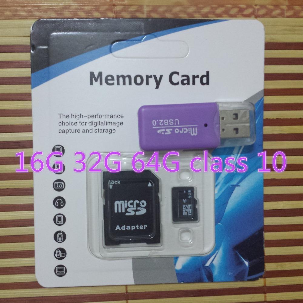 Professional Real Capacity micro sd card 16gb class 10 32GB 64GB 128GB High capacity(China (Mainland))