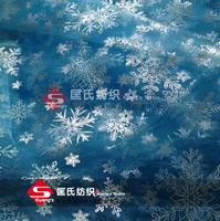 width 150cm Princess Elsa Cloak  frozen fabric snowflake organza fabric  SILVER GLITTER cosplay CAPE  tulle rolls tecido tissue