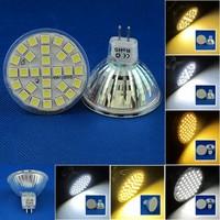 6 Pcs/lot Free Shipping MR16 LED 3W/4W/5W 29pcs/48pcs/60pcs SMD3528/5050 LED Spot Light Lamp Bulb AC220V Warm White/Nature White
