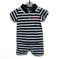 2014 summer 0-3 new arrival Kids collar short-sleeved baby boy rompers Brand Design Newborn 0-3 months clothing