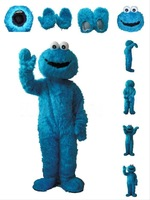 Fast Free Shipping the original Street Blue Cookie Monster mascot costume being Costumes Adult Character costume Fancy Dress