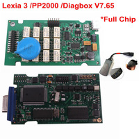 v7.57 [FHOBD]full chip  for Citroen Peugeot lexia-3 lexia 3 V48 pp2000 V25 with latest diagbox Free Shipping