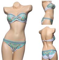 2014 hot sales new fashion Women bikini set  Swimwear beautiful crystal Swimsuit  bikini high-quality beachwear free shipping