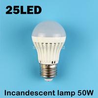 E27 25LEDS SMD 2835 (Incandescent lamp 50W) 220V - 240V Warm white cold white led lamp