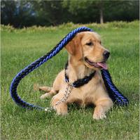 Freeshipping Large Dog Leash Big Dog Leash Chain Strong Dog Rope Pet Supplies Large Dog Collar