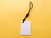 Free shipping(10 pcs) 125Khz RFID Tag Writable T5577 Cards Proximity Rewritable Access Control ID Hang Tags (35*25*0.9MM)