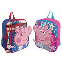 Peppa pig Backpack Children School Bag Peppa Pig Bag for Boys Girls 2014 Cartoon Animal Backpack Baby Schoolbag Wholesale Retail