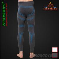Brand Slimming bottoms men body shaper comfortable soft heatmax long underpants fabric moisture perspiration U-shaped design