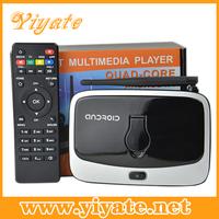 Q7S CS918S-2 Andriod 4.4 Smart TV Box Quad Core 2GB RAM 8GB ROM Built in 2.0MP Camera XBMC Bluetooth WIFI Android TV Box CS918S