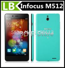"Original Foxconn Infocus M512 4G FDD LTE Qualcomm MSM8926 Phone 5.0"" HD IPS Gorilla Glass 1GB 4GB OTG Android 4.4 NFC"