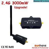 Hot sale! Original Sunhans 2.4G 3000mW wifi signal booster (SH24BTA-N)
