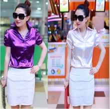 wholesale satin blouse