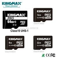 KINGMAX micro sd card 64gb class 10 4GB 8GB 16GB 32GB 64GB Memory Card Micro Card USB Flash Drive , gift card Reader CE FCC ROHS