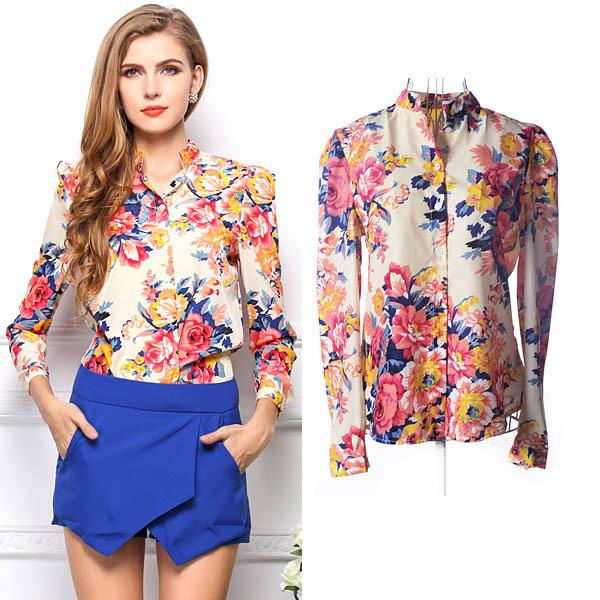 Модные Блузки 2015 С Доставкой