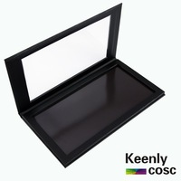 DHL or UPS free shipping! 8pcs/lot BLANK Larger Size Empty Magnetic Palette - Easy Pad -Capacity 5pans *36mm, Provide OEM LOGO