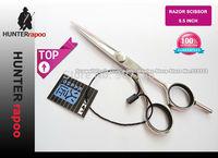 "Promotion 5.5""  KASHO Brand Professional  Hair Cutthing Shear Straight Scissor Hair Salon Shears made of Japanese VG10 Quality"