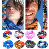 New Arrival Brand Changed Outdoor Sports Magic Seamless Multi Functional Scarf Head Band Bicycle Cycing Camping Scarf 5PCS