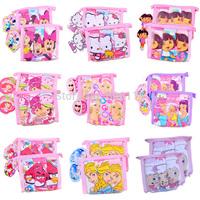 Retail Hot sale! 3pcs pack Children/kids/girls 100% cotton Elsa Minnie dora cartoons underwear/ briefs/panties(3 to 12 years)