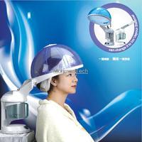 2014 Portable ozone hair steamer Salon Hair oil treatment &face mist sprayer Care Do Aromatherapy SPA household Remove Dandruff