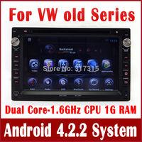 Android 4.2 Car DVD Player for Volkswagen VW Passat B5 Jetta Golf Bora with GPS Navigation Radio TV BT DVR 3G WiFi Tape Recorder