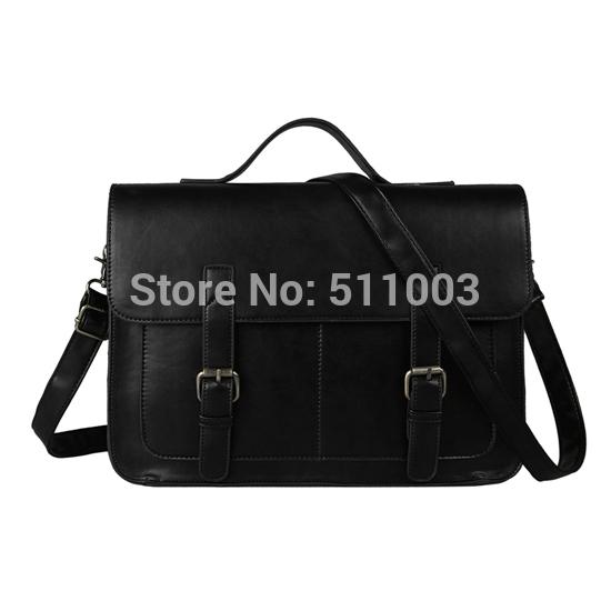 European style Document file Vintage Men Messenger Bags tote Elegant men's briefcases office men's crossbody bags