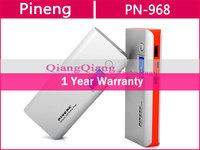 Original Pineng Power Bank PN-968 10000mAh External Battery Charger Dual USB For Android Smart Phone/Tablet PC/ Orange