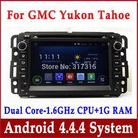 Android 4.4 Car GPS Navigation DVD Player for GMC Acadia Yukon Tahoe 2007-2012 w/ Radio BT TV CD SD USB DVR 3G WIFI Audio Stereo